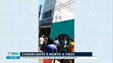 Comerciante é morto a tiros em Juazeiro do Norte - Confira mais notícias em g1.globo.com/ce