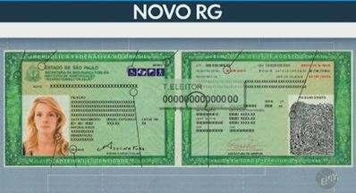 Novo modelo de RG é emitido em 72 unidades do Poupatempo a partir desta terça - Serviço acontece em agências do Estado de São Paulo. Ideia é reunir informações de outros documentos só na carteira de identidade.
