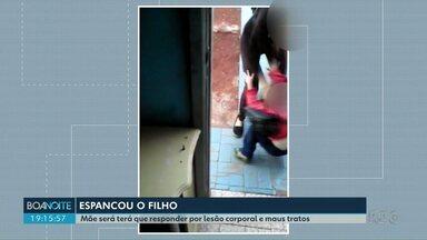 Polícia investiga mãe por agredir filho de quatro anos em Apucarana - Polícia Civil diz que mulher, de 26 anos, agride o menino desde quando ele era bebê e, na última vez, chegou a arrancar um tufo de cabelo da cabeça dele.