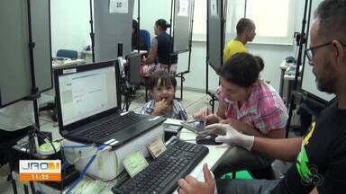 Revisão biométrica está sendo feita em Jaru - Outros municípios também receberão a revisão.