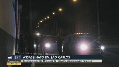 Homem de 31 anos é assassinado a pauladas e facadas em São Carlos - Dois homens suspeitos do crime fugiram. Polícia apura o caso.