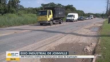IMA finaliza análise de licença para obras de duplicação do eixo industrial de Joinville - IMA finaliza análise de licença para obras de duplicação do eixo industrial de Joinville
