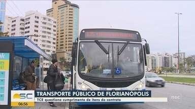 Relatório do TCE aponta irregularidades no transporte coletivo de Florianópolis - Relatório do TCE aponta irregularidades no transporte coletivo de Florianópolis