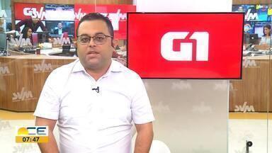 Confira os destaques do G1 Ceará - Saiba mais em g1.com.br/ce