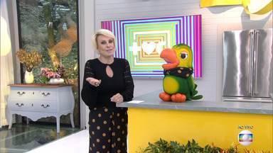 Programa de 21/08/2019 - Ana Maria Braga mostra a moda dos looks coordenados e comenta a loucura do clima, que está fazendo a cidade de São Paulo ter uma diferença de até 15 graus em um único dia. A receita é um delicioso crumble de legumes