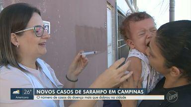 Região de Campinas tem mais 5 cidades com casos confirmados de sarampo - Secretaria Estadual de Saúde atualizou lista de municípios com casos registrados de sarampo.
