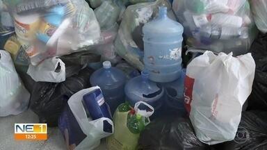 Escola no Prado e rua de Dois Unidos vencem gincana de recolhimento de plástico - Comunidades vão receber uma edição do projeto Mais Vida, da Prefeitura do Recife.