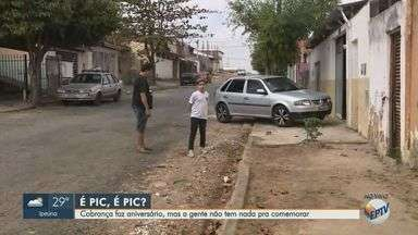 'Até Quando': problemas em ruas de Sumaré completam um ano sem solução - Ruas do bairro São Domingos necessitam de asfalto novo e moradores reclamam há um ano.