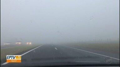 Confira a previsão do tempo para esta quarta-feira (21) para a região de Ribeirão Preto - Dia amanheceu com neblina e temperatura amena.