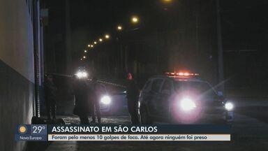 Homem de 31 anos é assassinado a pauladas e facadas em São Carlos - Dois homens suspeitos do crime fugiram na noite desta terça-feira. Polícia apura o caso.
