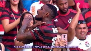 Meio-campo Gerson se torna o jogador coringa de Jorge Jesus no Flamengo - Meio-campo Gerson se torna o jogador coringa de Jorge Jesus no Flamengo