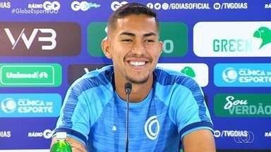 Cria da base esmeraldina, Iago Mendonça busca espaço no Goiás - Zagueiro será titular no Verdão na partida contra o Brasiliense, pela Copa Verde