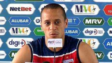 "Derley pede Fortaleza ""sem medo"" para duelo contra Santos - Derley pede Fortaleza ""sem medo"" para duelo contra Santos"