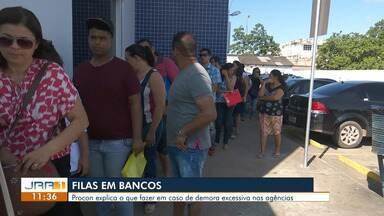 Procon Boa Vista explica o que fazer em caso de esperas excessivas em filas de bancos - A secretária-executiva Sabrina Tricot fala como o consumidor pode reivindicar pelo atendimento dentro das normas estabelecidas pela Lei Municipal.