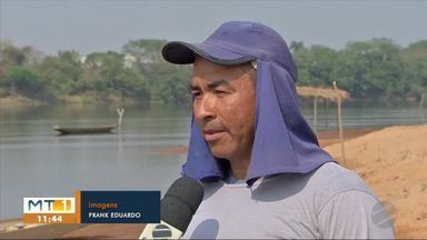 Pescadores que dependem da atividade ficam desesperados com proibição da pesca - Pescadores que dependem da atividade ficam desesperados com proibição da pesca