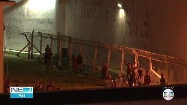 Incêndio em cela deixa três presos feridos em penitenciária em Itamaracá - De acordo com o governo, fogo, causado por curto-circuito, provocou queda de reboco
