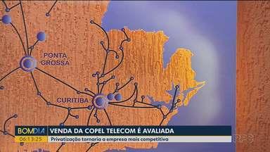 Governo do Estado avalia a privatização da Copel Telecom - Segundo o presidente da Copel, empresa se tornaria mais competitiva e chegaria a mais locais.