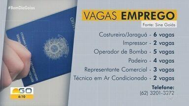 Veja vagas de emprego abertas para Goiás - Há oportunidade para auxiliar de escrita fiscal e contador.