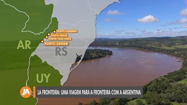 La Fronteira: viaje para a fronteira com a Argentina - Assista ao vídeo.