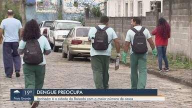 Itanhaém é a cidade da Baixada Santista com o maior número de casos de dengue - Cidade já teve 586 casos da doença confirmados em 2019.