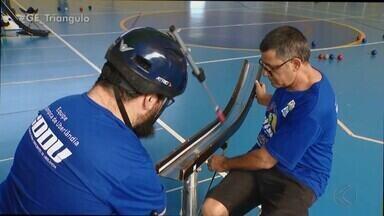 Com dupla de pai e filho na equipe, conheça os competidores da região na bocha no Parapan - Atletas, que fazem parte da Adefu, de Uberaba, e do CDDU, de Uberlândia, integram Time Brasil em Lima