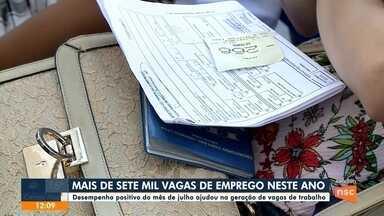 Jefferson Saavedra: mais de 7 mil vagas de emprego neste ano - Jefferson Saavedra: mais de 7 mil vagas de emprego neste ano