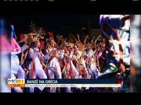 Grupo Banzé participou de festival na Grécia - O Grupo é de Montes Claros e realizou turnê pela Grécia, durante 20 dias.