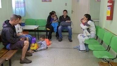 Sorocaba atinge 88% da cobertura vacinal de crianças contra o sarampo - Sorocaba (SP), que tem 14 casos confirmados de sarampo, informou nesta sexta-feira (23) que atingiu 88% da cobertura vacinal de crianças de seis meses até um ano.