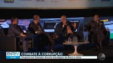 Simpósio de combate à corrupção realizado em Salvador aborda a experiência italiana - O modelo da Itália serviu de inspiração 'Lava Jato'.