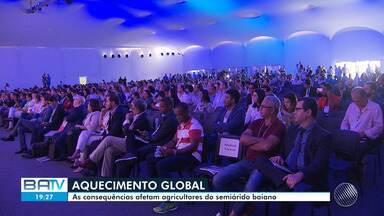 Em último dia da Semana do Clima, prefeitos defendem que o Brasil cumpra metas ambientais - O evento também discutiu problemas como enchentes, chuvas e avanço do mar no estado da Bahia.