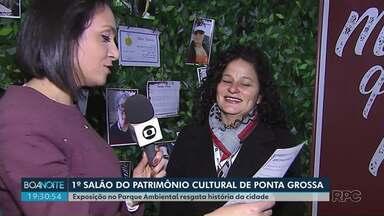 1º Salão do Patrimônio Cultural de Ponta Grossa vai até domingo (25) no Parque Ambiental - Mostra traz objetos e fotografias antigas.