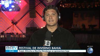 Festival de Inverno Bahia 2019 começa em poucas horas em Vitória da Conquista - O clima é de 'contagem regressiva' no Parque de Exposições da cidade.