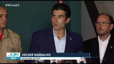 Governo do PA diz que não há recursos para o combate aos incêndios no estado - Impactos já começam a ser sentidos em Belém, segundo o governador Hélder Barbalho.