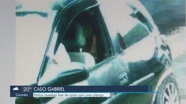 Polícia investiga carro do padrasto de menino desaparecido em Registro - Foto do veículo em que uma criança aparece no banco de trás foi divulgada.