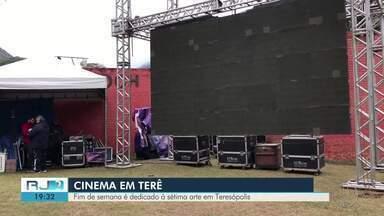 Fim de semana é dedicado à sétima arte em Teresópolis - Festival internacional de cinema começou nesta sexta-feira (23).