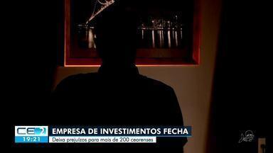 Empresa fecha as portas deixando prejuízo milionário a vários cearenses - Confira mais notícias em g1.globo.com/ce