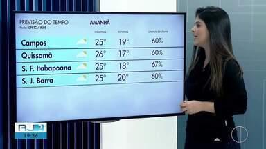 Confira a previsão do tempo para as cidades do interior do Rio - Veja as temperaturas para o sábado (24).