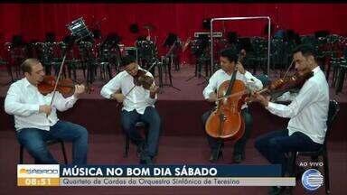Orquestra Sinfônica de Teresina traz música de qualidade para sua manhã de sábado - Orquestra Sinfônica de Teresina traz música de qualidade para sua manhã de sábado