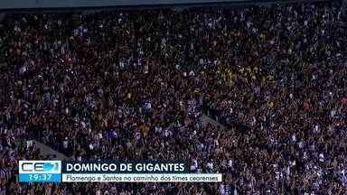 Fortaleza e Ceará enfrentam os líderes da Série A neste domingo (25) - Saiba mais em g1.com.br/ce
