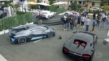 Bugatti mostra novos superesportivos em festival nos EUA - Para comemorar 110 anos, a marca de hiperesportivos apresenta novos modelos Divo e o 110, Mostramos um pouco dos modelos apresentados num dos concursos de elegância mais importantes do mundo: people Beach.