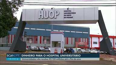 Governo estadual anuncia repasse de R$ 130 milhões para universidades - O repasse vai ser parcelado até o fim do ano. Os hospitais serão os primeiros a receber este recurso.