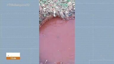 Moradora denuncia vazamento de água que dura há dias no Aureny lll - Moradora denuncia vazamento de água que dura há dias no Aureny lll