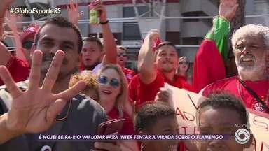 Beira-Rio deve ter lotação máxima para decisão desta quarta-feira - Não há mais ingressos disponíveis para jogo contra o Flamengo.