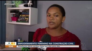 Projeto da UFPA promove empoderamento feminino na construção civil - Projeto da UFPA promove empoderamento feminino na construção civil