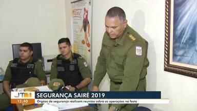 Órgãos de segurança e Prefeitura realizam reunião sobre operações no Sairé - Pauta principal foi o horário da programação oficial no principal dia do evento.