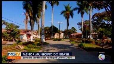 Serra da Saudade segue como a cidade menos populosa do Brasil - Município do Centro-Oeste de Minas registrou população de 781 habitantes, em 2019. Número é 0,63% menor em relação ao ano passado.