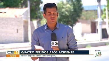Idoso morre após ser atropelado em Juazeiro do Norte; veículo capota em Iguatu - Saiba mais em g1.com.br/ce