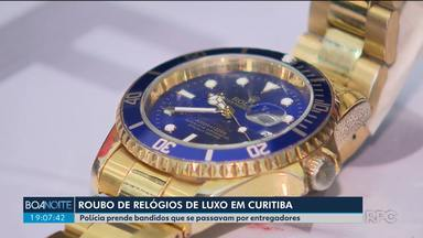 Polícia prende bandidos que se passavam por entregadores e roubaram relógios de luxo - Doze integrantes de uma quadrilha foram presos. Eles se passavam por entregadores de aplicativos de entrega de comida para realizar os roubos.