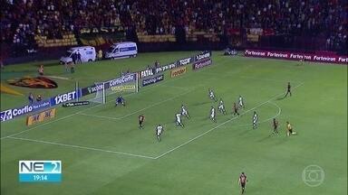 Sport empata mais uma partida, em casa, pela Série B - Jogo contra o Atlético de Goiás aconteceu na terça (27), na Ilha do Retiro