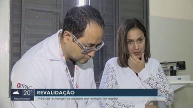 """Médicos com formação no exterior fazem """"estágio"""" de revalidação de diploma no Sul de Minas - Médicos com formação no exterior fazem """"estágio"""" de revalidação de diploma no Sul de Minas"""